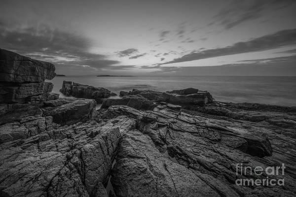 Michael Photograph - Acadia Rocky Sunrise  by Michael Ver Sprill