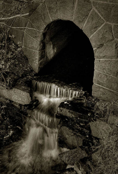 Photograph - Acadia Waterfall by Michael Kirk