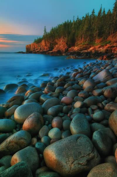 Photograph - Acadian Dawn - Otter Cliffs by T-S Fine Art Landscape Photography