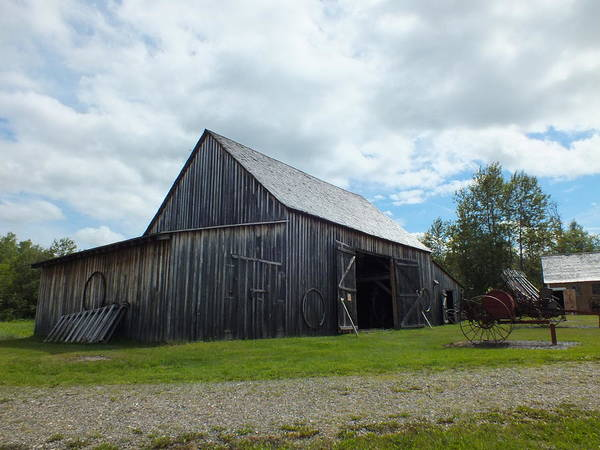 Aroostook County Photograph - Acadian Village 2 by Gene Cyr