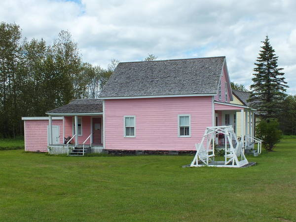 Aroostook County Photograph - Acadian Village 3 by Gene Cyr