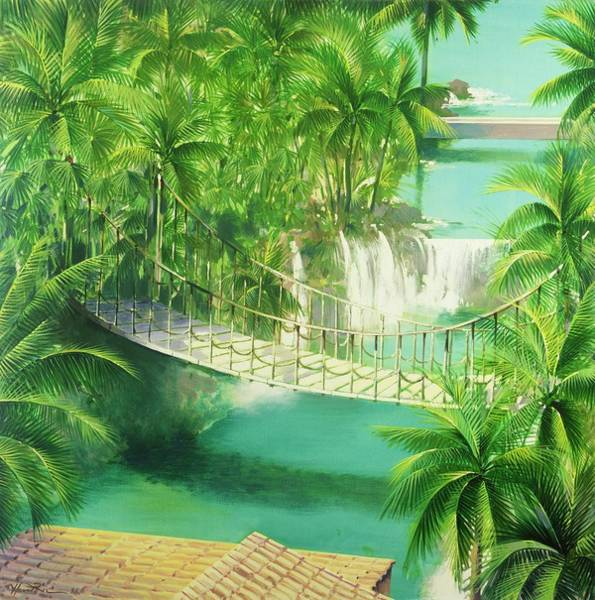 Honeymoon Painting - Acapulco by Andrew Hewkin