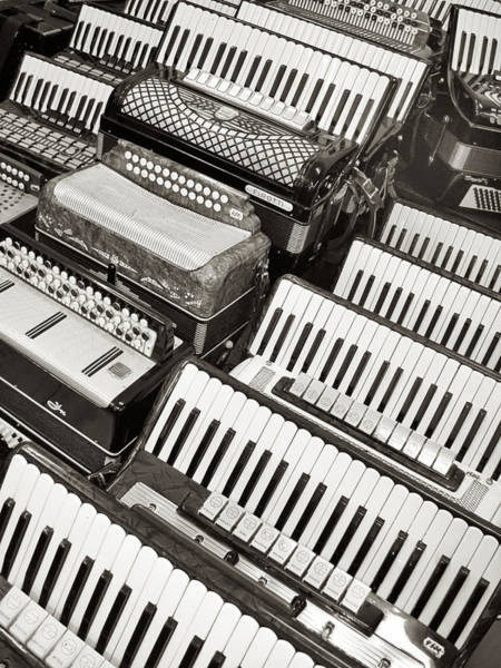 Accordions Art Print