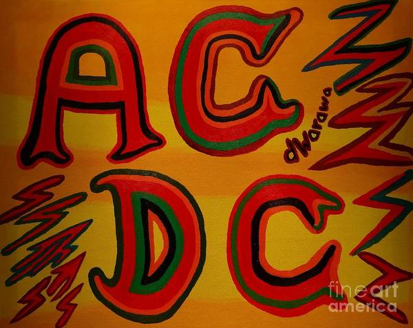 Acdc Painting - Acdc by Douglas W Warawa