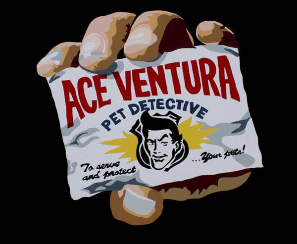 Jim Carrey Painting - Ace Ventura by Ian  King