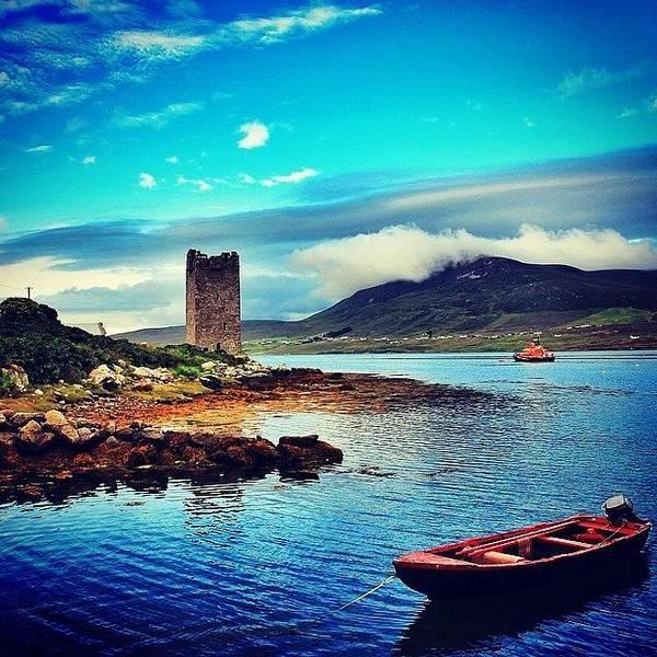 Wall Art - Photograph - #achillisland #ireland #landscape by Luisa Azzolini