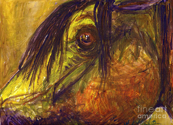 Painting - Ancient by Linda L Martin