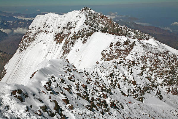 Mendoza Province Photograph - Aconcagua South Summit View by Johnathan Ampersand Esper