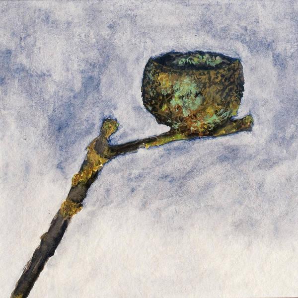 Painting - Acorn Cupule  by Lee Santa