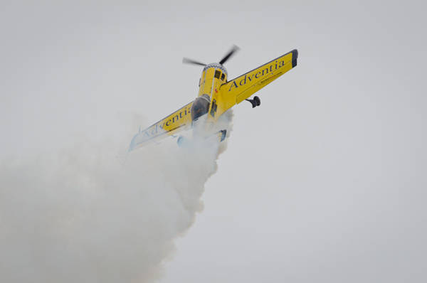 Aerobatics At Cuatro Vientos II Art Print