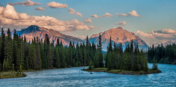 Wall Art - Photograph - Across The Athabasca River by James Wheeler