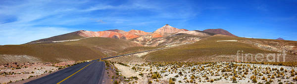 Photograph - Across The Chilean Altiplano by James Brunker