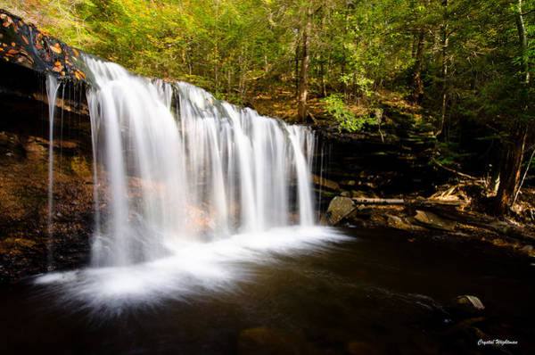 Photograph - Across The Ledge Waterfall by Crystal Wightman