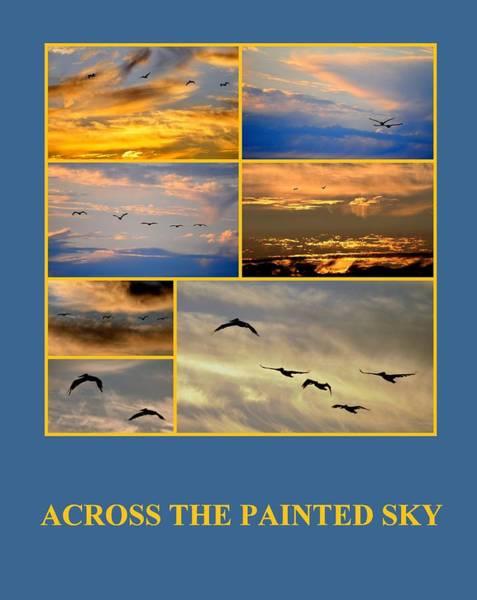 Photograph - Across The Painted Sky by AJ  Schibig