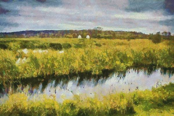 Painting - Across The Pond-2 by Barry Jones