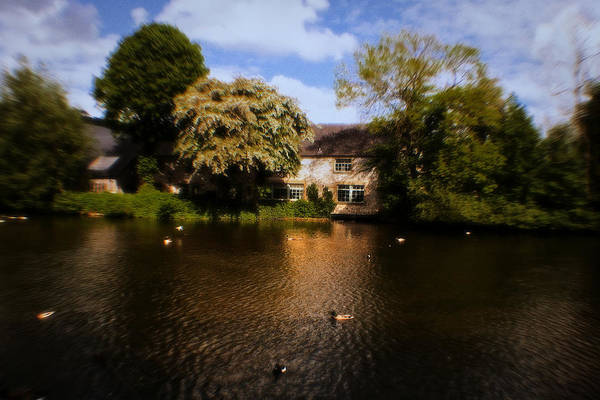 Photograph - Across The River Weir At Bakewell - England by Doc Braham