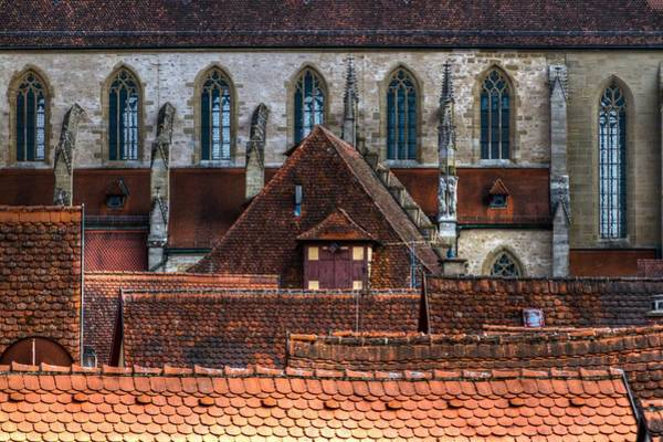 Photograph - Across The Rooftops by Jenny Setchell