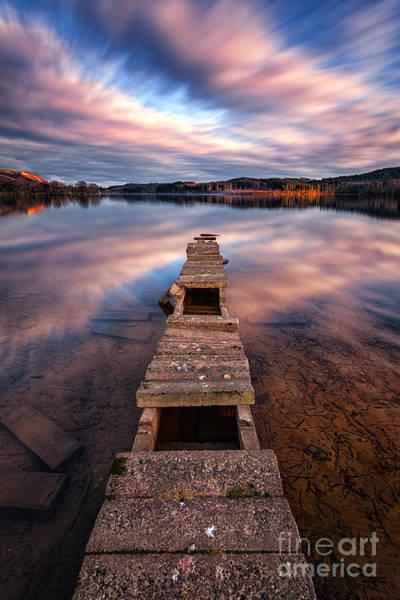 Loch Ard Photograph - Across The Water by John Farnan