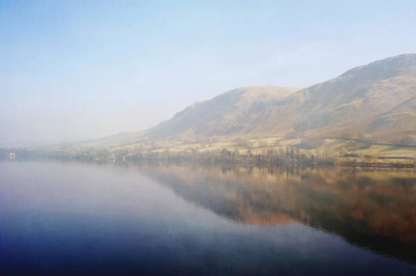 Ullswater Photograph - Across Ullswater To Howtown From The by Tracy Packer Photography