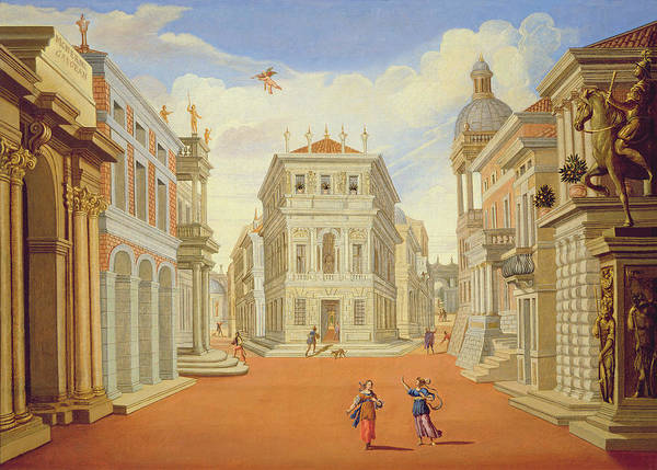 Mythical Photograph - Act II, Scenes I And Viii Oil On Canvas by Giacomo Torelli