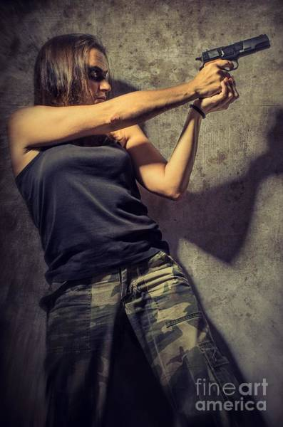 Fearless Photograph - Action Woman I by Carlos Caetano