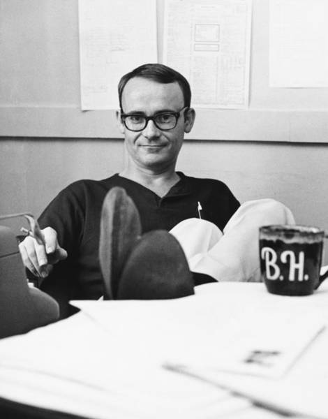 Black Buck Photograph - Actor Buck Henry by Underwood Archives