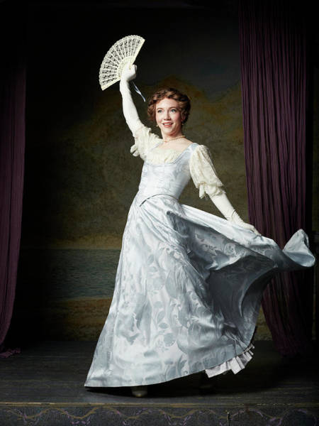 Formalwear Photograph - Actors In Period Costume On Stage by Gregory Costanzo