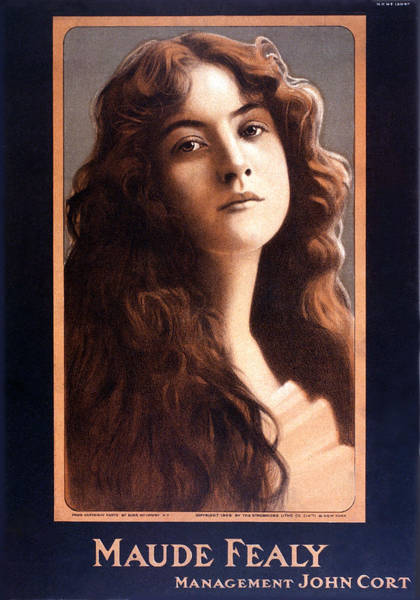 Theatrical Painting - Actress Maude Fealy by Gary Bodnar
