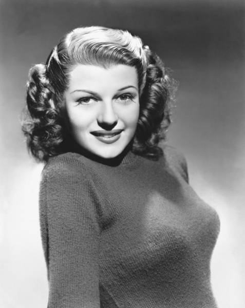 Appearance Photograph - Actress Rita Hayworth by Underwood Archives