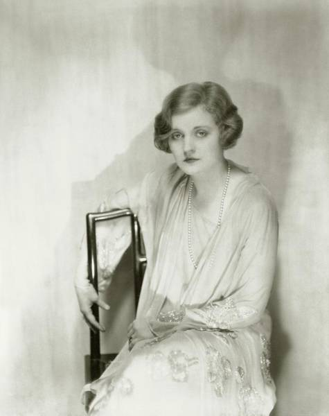 January 1st Photograph - Actress Tallulah Bankhead by Nickolas Muray