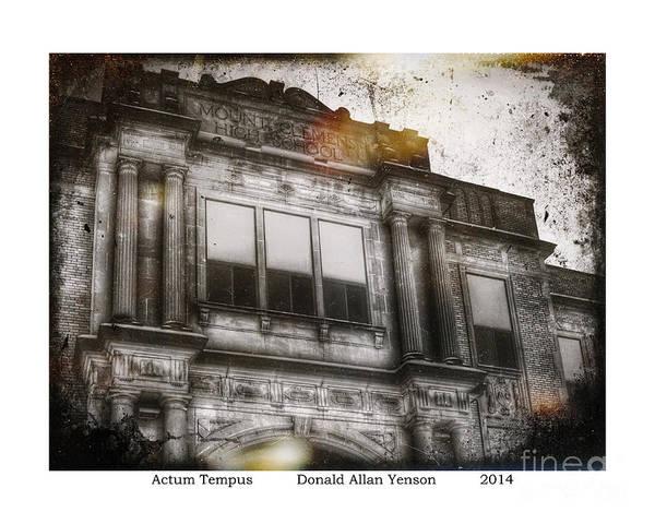 Mount Clemens Photograph - Actum Tempus by Donald Yenson