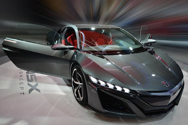 Photograph - Acura Nsx Concept 2013 by Dragan Kudjerski