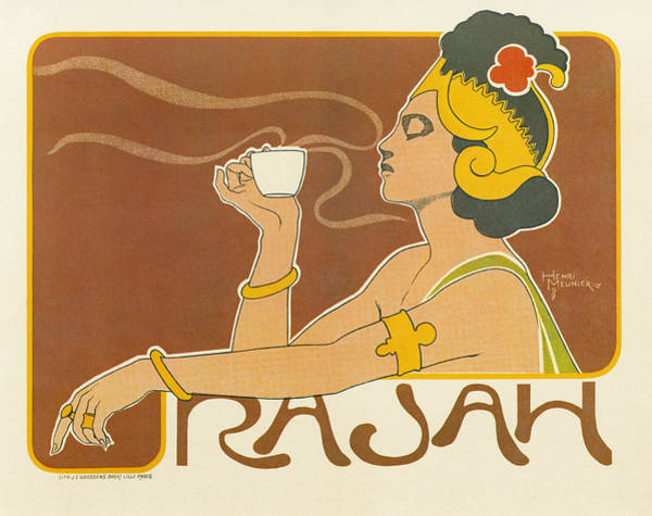 Coffee Drawing - Ad Coffee, 1897 by Granger