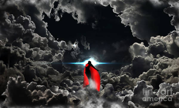 Man Of Steel Wall Art - Digital Art - Ad Lucem  by The DigArtisT