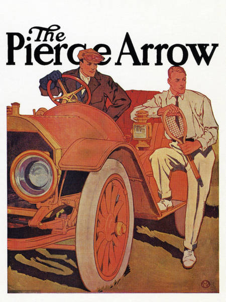 Wall Art - Drawing - Ad Pierce-arrow, C1915 by Granger