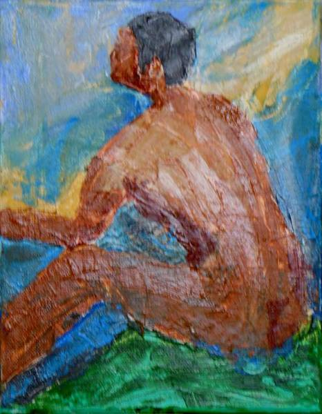 Wall Art - Painting - Adam by Brenda L Smith