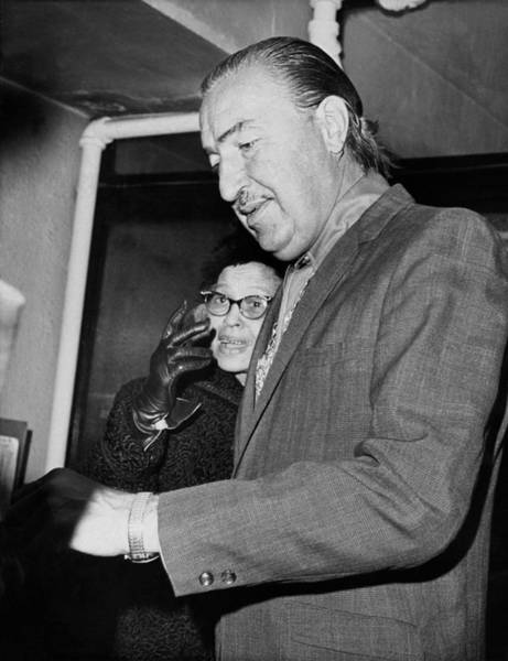 Clayton Photograph - Adam Clayton Powell Retires by Underwood Archives