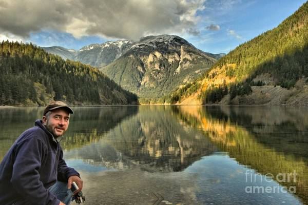 Photograph - Adam Jewell At Diablo Lake by Adam Jewell