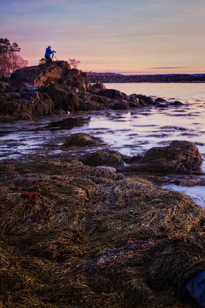 Photograph - Adam On The Rocks by Jeff Sinon