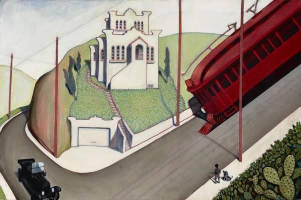 Painting - Adams Hill by John Reynolds