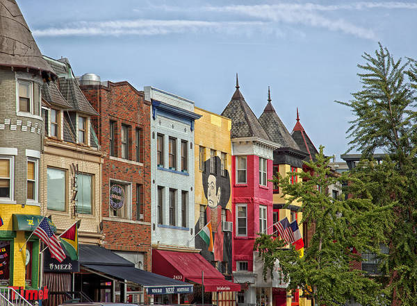 Neighborhood Photograph - Adams Morgan Neighborhood In Washington D.c. by Mountain Dreams