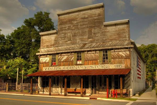 Photograph - Adams Old Country Store by Donald Williams