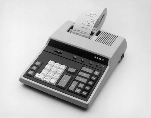 Wall Art - Photograph - Adding Machine by Victor Business Products