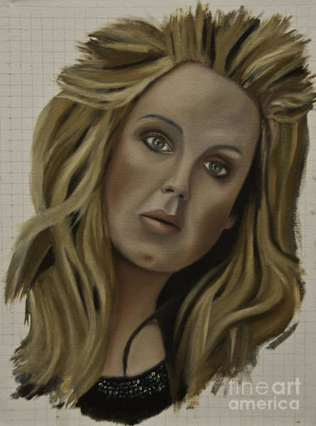 Painting - Adele by James Lavott