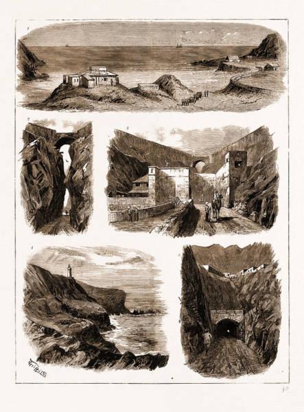 Brigade Drawing - Aden, 1883 1. The Brigade Majors Office And Royal Artillery by Litz Collection