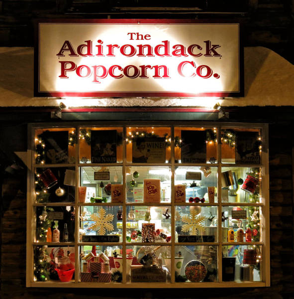 Photograph - Adirondack Popcorn by Nancy De Flon