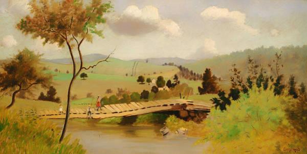 Adirondack Mountains Painting - Adirondacks by Mountain Dreams