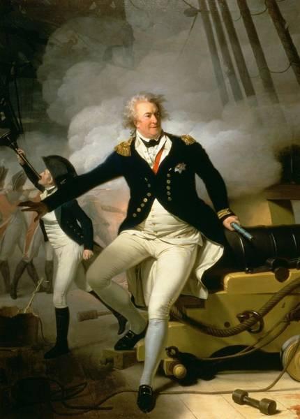 Gunfire Photograph - Admiral Adam Duncan, 1st Viscount Duncan Of Camperdown 1731-1804 1798 by Henri-Pierre Danloux