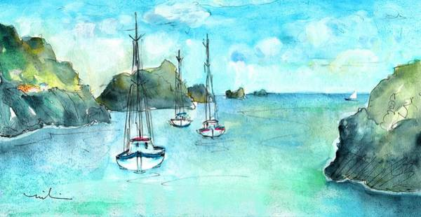 Painting - Admiralty Bay Bequia 02 by Miki De Goodaboom