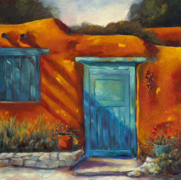 Adobe Walls Painting - Adobe Charm by Chris Brandley